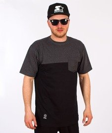 Mass-Pocket Base T-shirt Grafit/Czarny