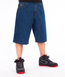 Moro Sport-Blank Spodnie Krótkie Średni Jeans