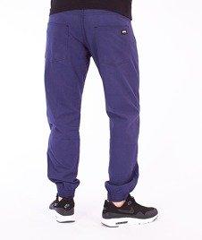 Moro Sport-Jogger Regular Spodnie Granatowe