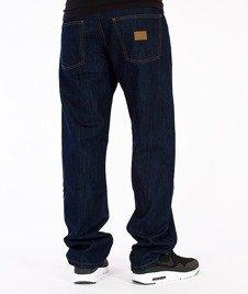 Moro Sport-Regular Label Spodnie Ciemny Jeans