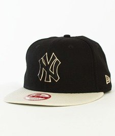 New Era-Contrast New York Yankees Snapback Czarny/Beżowy