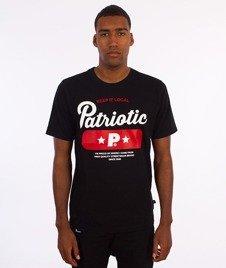 Patriotic-Base T-shirt Czarny