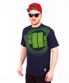 Pit Bull West Coast-Raster Logo T-Shirt Dark Navy