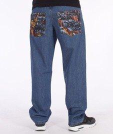 SmokeStory-Dark City Pocket Regular Jeans Light Blue