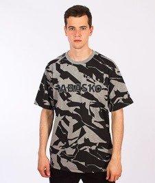 Tabasko-Crack T-Shirt Szary