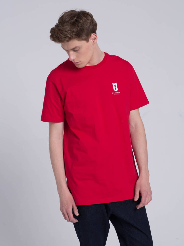 Biuro Ochrony Rapu BASIC T-Shirt Czerwony