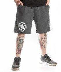 Brain Dead Familia-Grunge Spodnie Krótkie Dresowe Szare