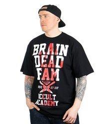Brain Dead Familia OCCULT ACADEMY T-Shirt Czarny