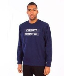 Carhartt-313 Sweat  Blue/Multicolor