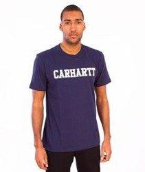 Carhartt-College LT T-Shirt Blue/White