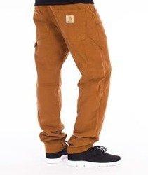 Carhartt-Fort Pants Spodnie Brown Stone Washed Straight Leg L32