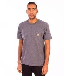 Carhartt-Pocket T-Shirt  Dark Grey Heather