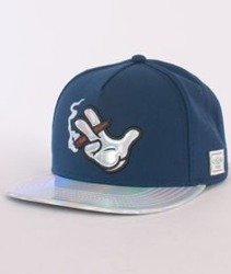 Cayler & Sons-Baked Cap Navy/Navy Tie Dye/Holographic