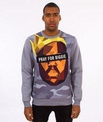 Cayler & Sons-Bigasso Crewneck Grey