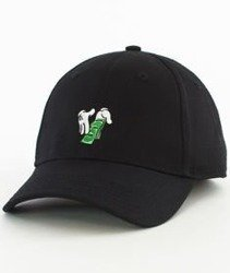 Cayler & Sons-Make It Rain Curved Strapback Black