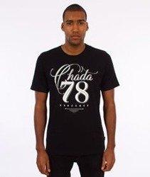 Chada-Chada78 T-Shirt Czarny