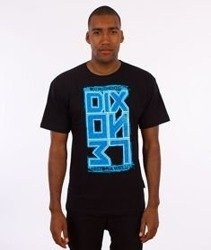 Dixon37-DIX Ornament T-Shirt Czarny