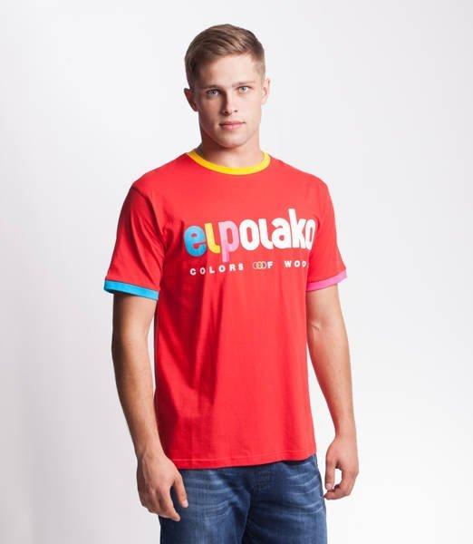 El Polako COW T-Shirt Czerwony