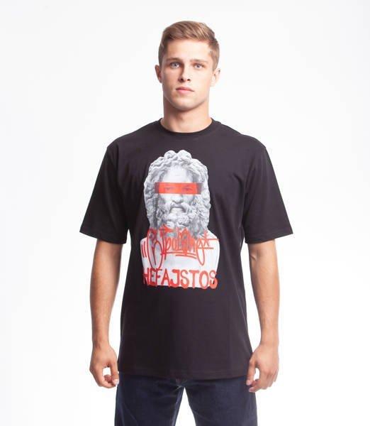 El Polako HEFAJSTOS T-Shirt Czarny