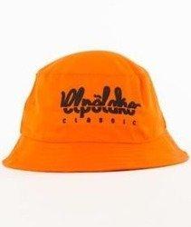 El Polako-Logo Cut Bucket Hat Pomarańczowy
