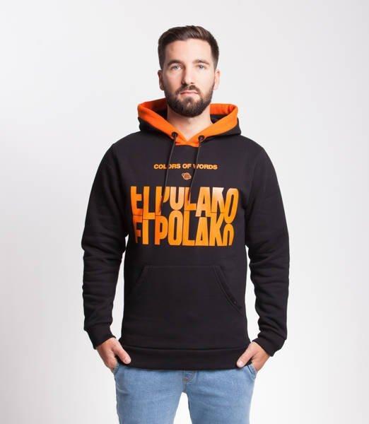 El Polako SLOTMACHINE Bluza z Kapturem Czarny