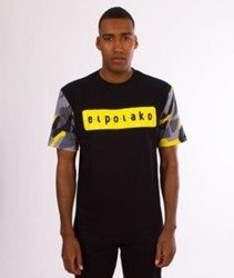 El Polako-Sleve Triangle Moro T-Shirt Yellow