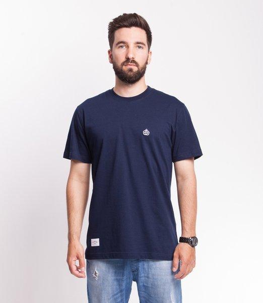 Elade ICON MINI LOGO T-Shirt Granatowy