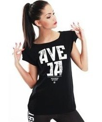 Endorfina-TDB Ave Ja T-shirt Damski Black