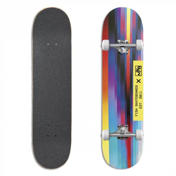 Fish Skateboards Deskorolka Kompletna ERROR No.1 8.0