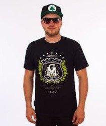 Ganja Mafia-Herb T-Shirt Czarny/Zielony
