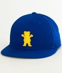 Grizzly-OG Bear Snapback Blue