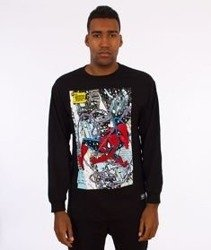 Grizzly-Spiderman Cover Longsleeve Black