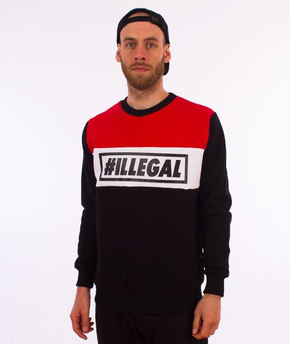 Illegal-Illegal Red Bluza Czarna/Czerwona