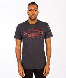 Iriedaily-Trusted Demons T-shirt Coal