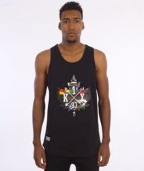 K1X-Glitch Logo Tank Top Black