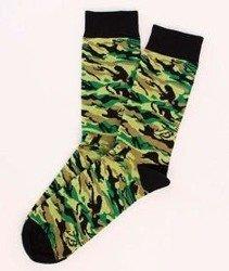 Koka-Naked Socks Camo/Green