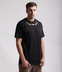 Lucky Dice Laurel T-Shirt Czarny/Złoty