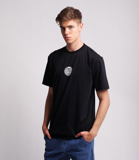 Mass BASE SMALL LOGO T-Shirt Czarny