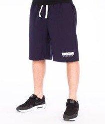 Mass-Classics Spodnie Dresowe Krótkie Granatowe
