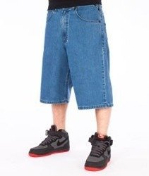 Mass-Slang Shorts Baggy Light Blue