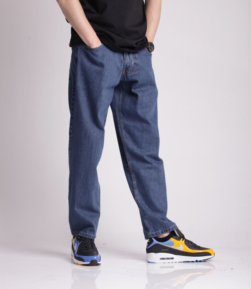 Metoda BAGGY Jeans Średnie Spranie
