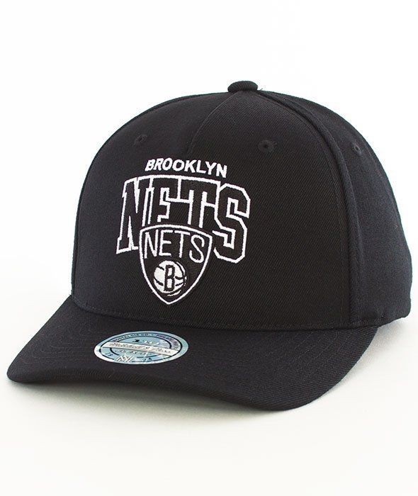 Mitchell & Ness-Brooklyn Nets NBA Team Arch Pinch Panel  INTL227