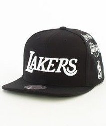 Mitchell & Ness-Los Angeles Lakers 059VZ Snapback Czapka Czarna