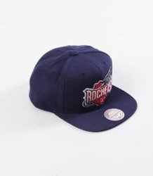 new concept c7a91 bcc32 Mitchell   Ness- Wool Solid Snapback - NBA - Houston Rockets