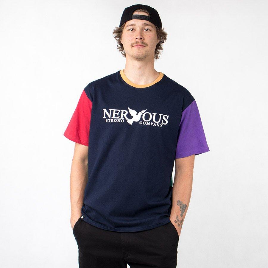 Nervous CLASSIC HARLEKIN T-Shirt Multicolor