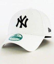 New Era-Basic New York Yankees Czapka z Daszkiem Biała