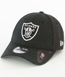 New Era-Oakland Raiders Heather Team Essential Czapka z Daszkiem Heather Black