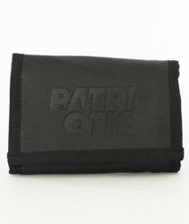 Patriotic-CLS Leather Stamp Portfel Czarny
