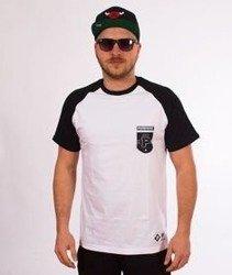 Patriotic-P Shield T-shirt Slim Biały