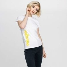 Patriotic PatGirl T-Shirt Damski Biały